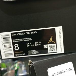 Jordan Shoes - Air Jordan Dub-Zero 311046-116